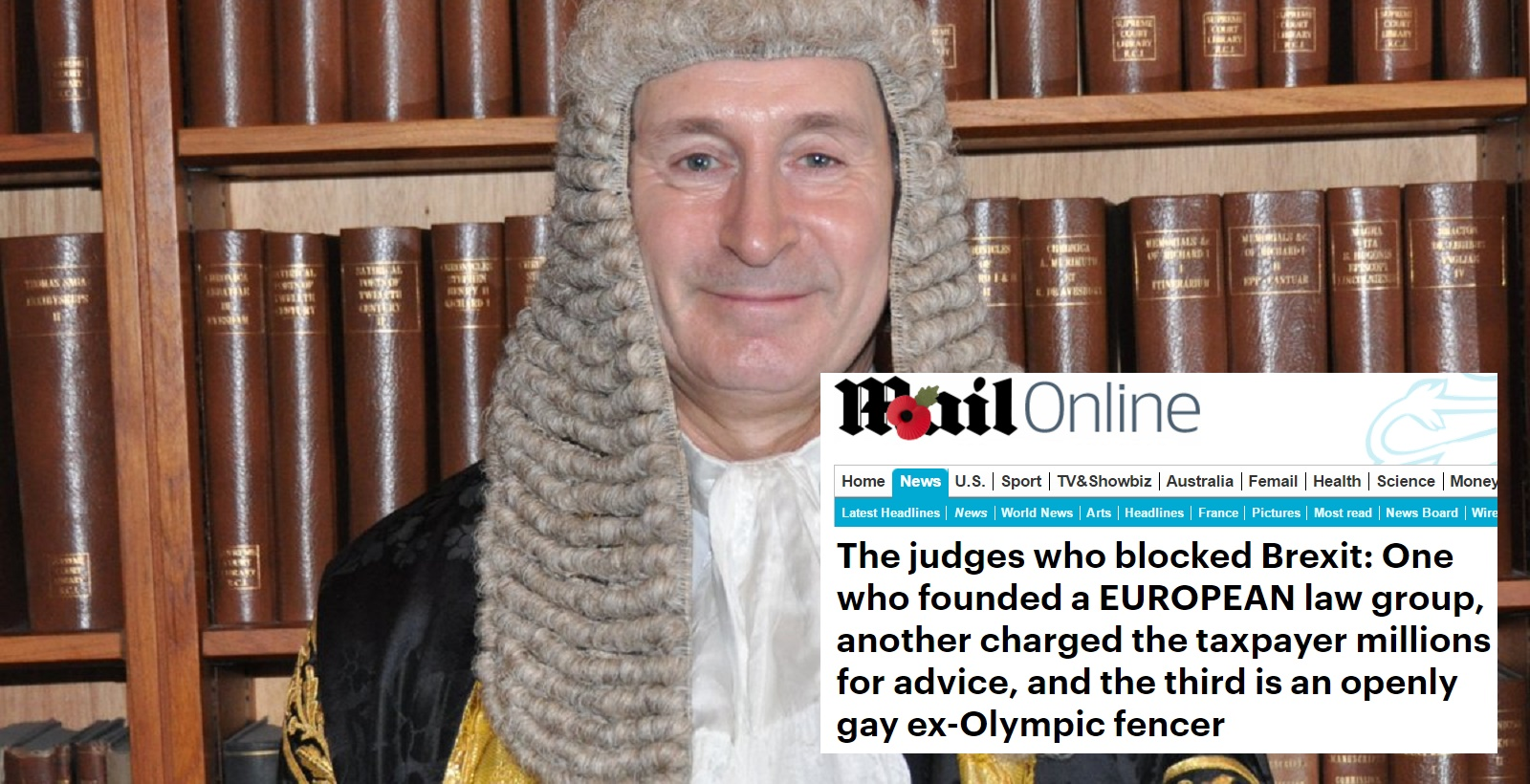 Openly gay judges