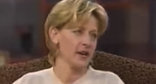 Ellen DeGeneres during her 'coming out interview' on Oprah. (YouTube)