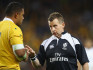 Nigel Owens said he thinks there should be a zero-tolerance attitude to homophobia in sports