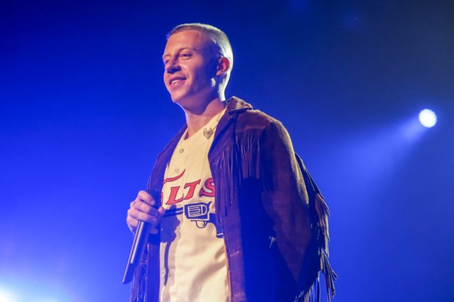 Macklemore in concert
