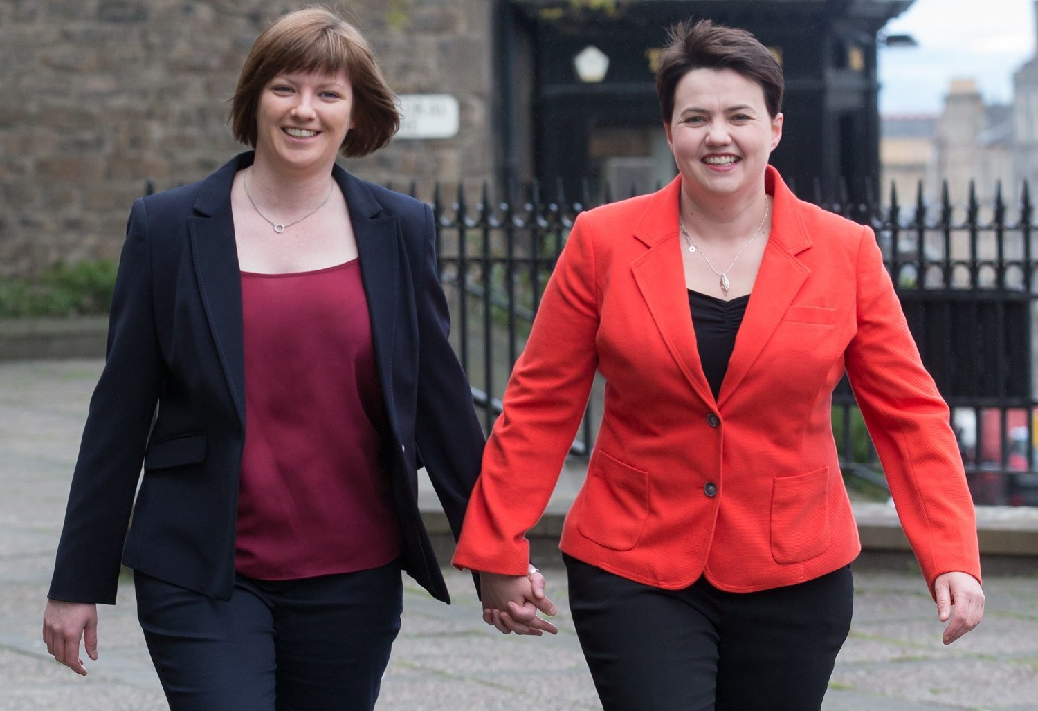 Scottish Conservative leader Davidson announces pregnancy