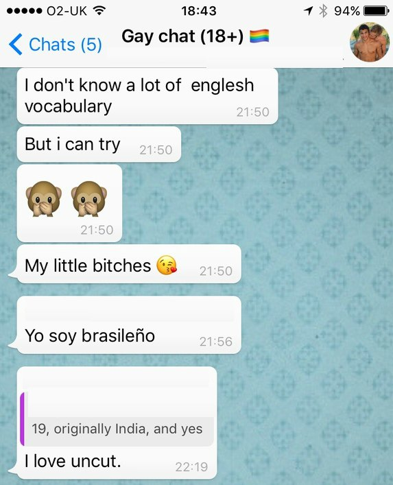 There are secret WhatsApp groups where hundreds of guys swap d*** pics