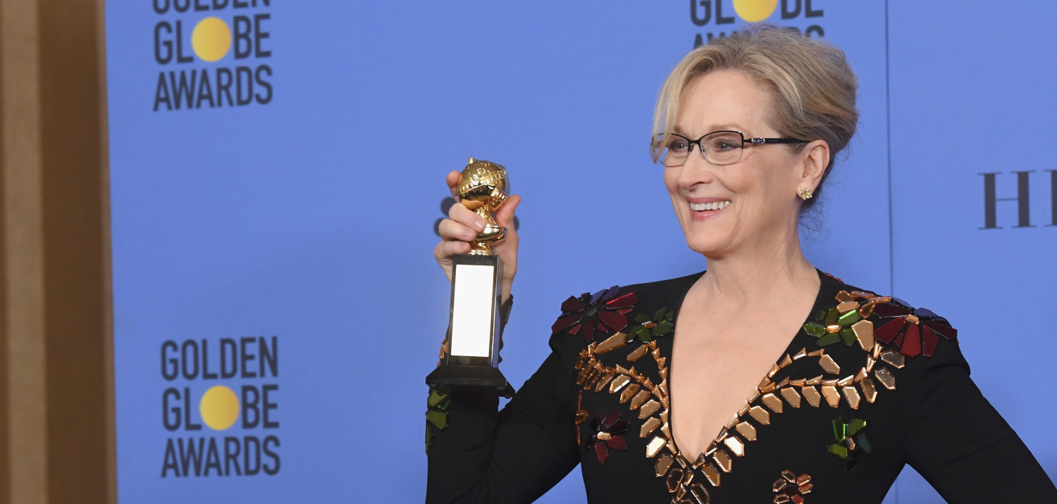 Meryl Streep at the 2017 Golden Globes (Kevin Winter/Getty Images)
