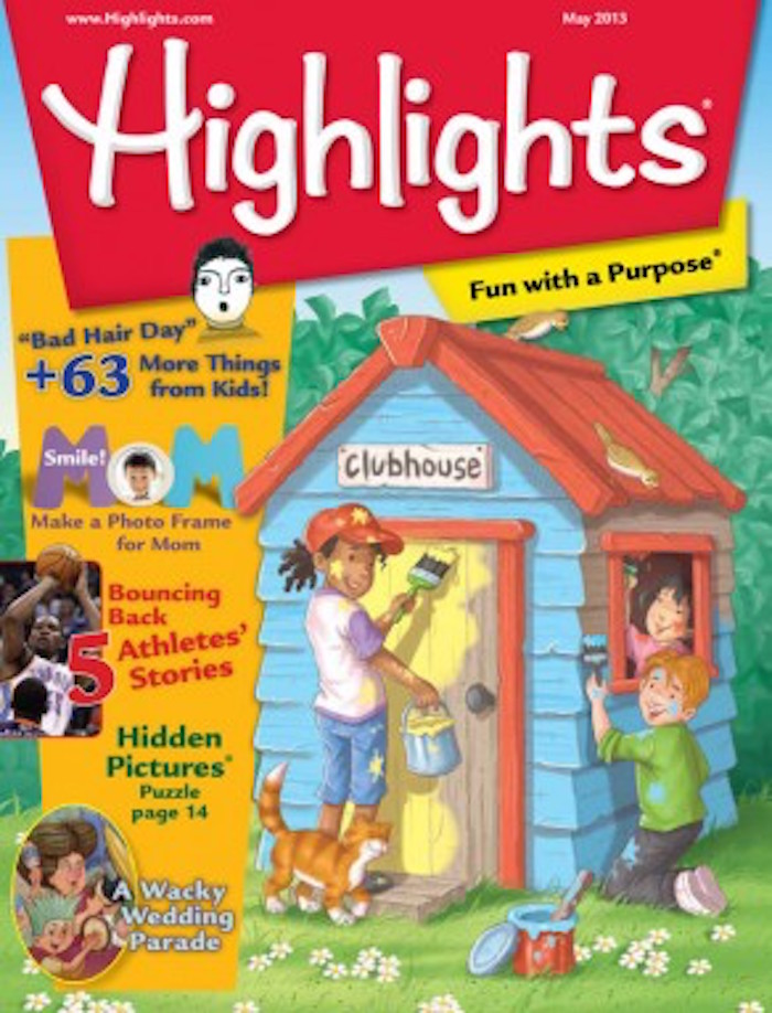 Following Homophobia Row Childrens Magazine Features Same Sex