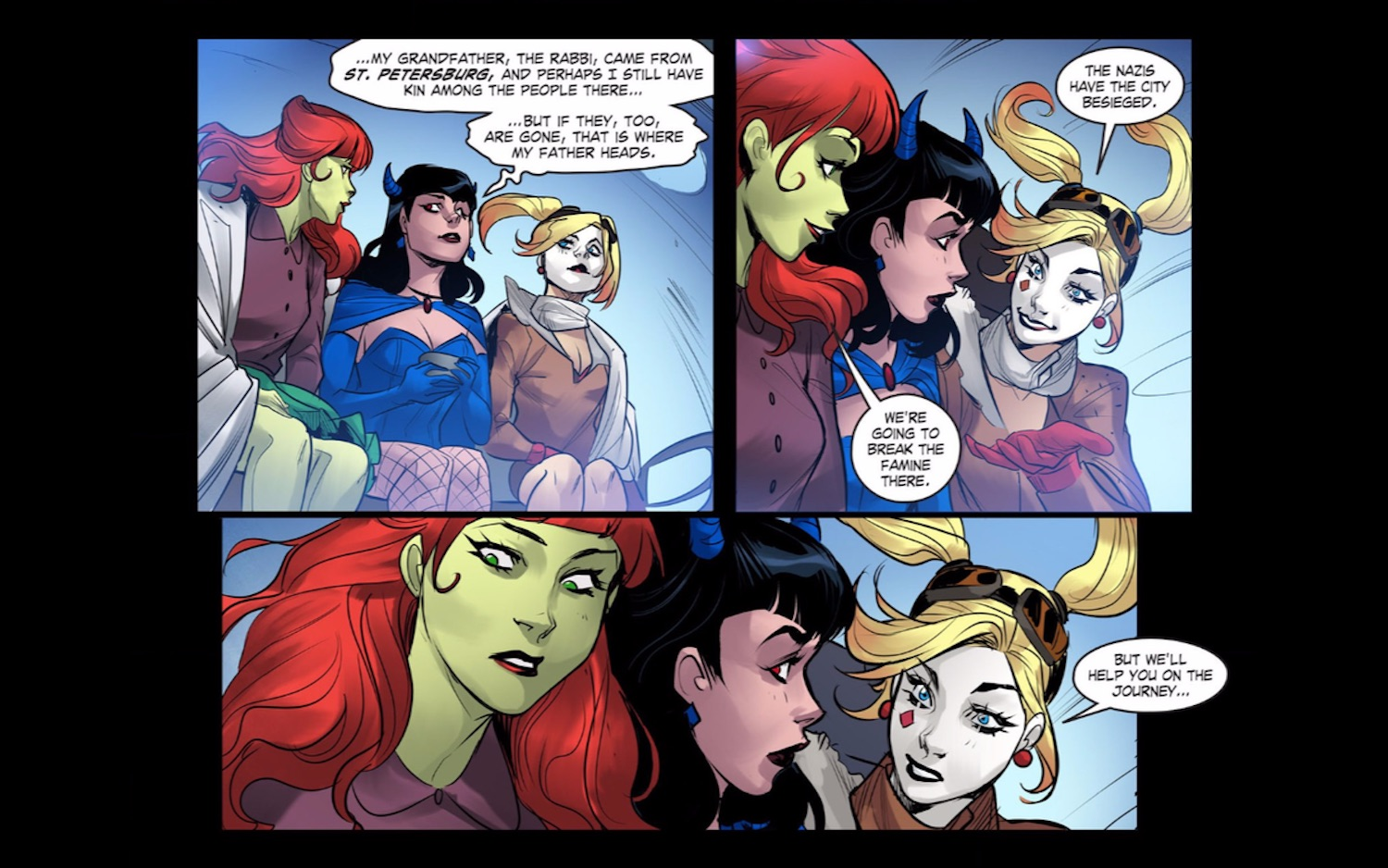Harley Quinn And Poison Ivy Are Officially A Couple