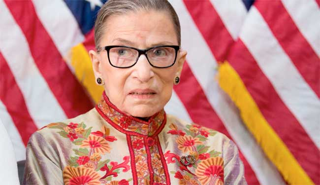 Ruth Bader Ginsburg in article image Getty