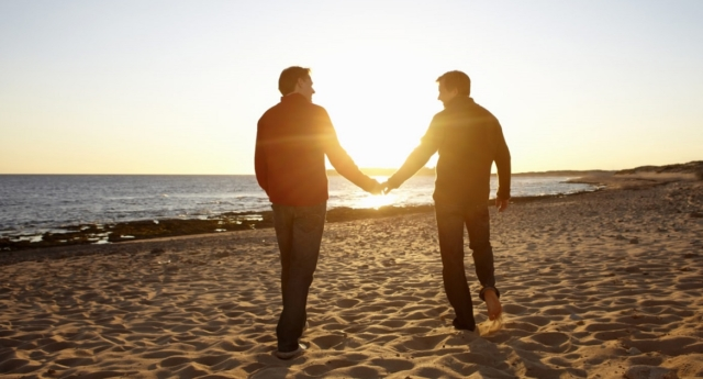 The men are the first gay couple to have their marriage legally recognised in Estonia (Image: Getty - under licence)