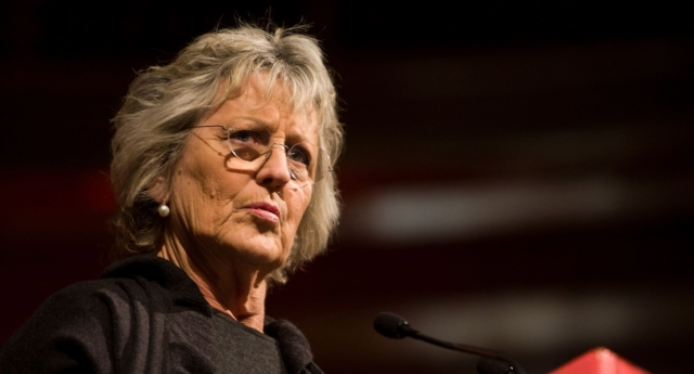 Germaine Greer is set to speak on International Women's Day in Brighton