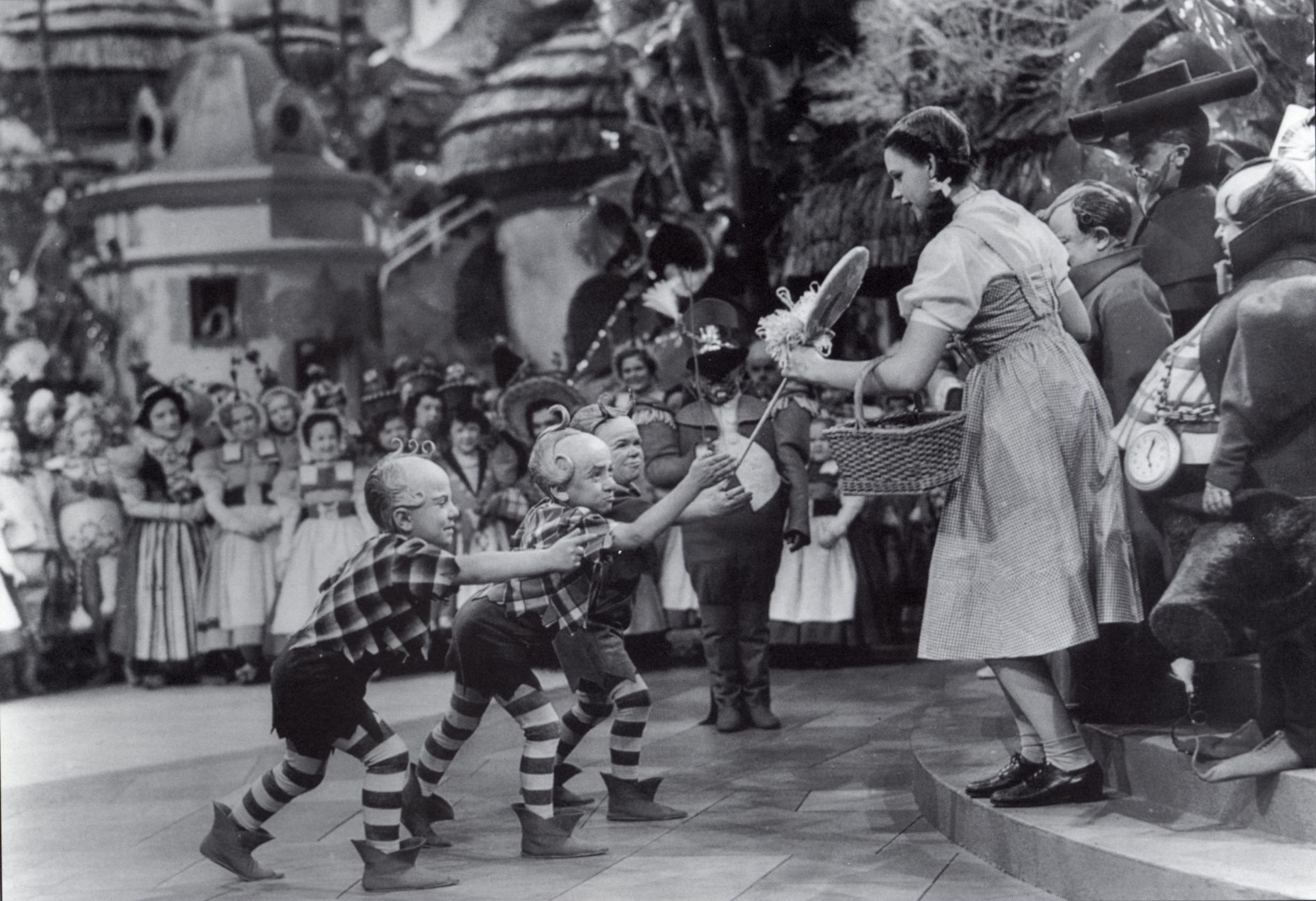 Judy Garland as Dorothy in the Wizard of Oz (Getty Images)
