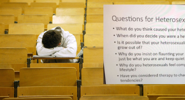 The questions were asked by a university lecturer (Image composite: Getty/Twitter)