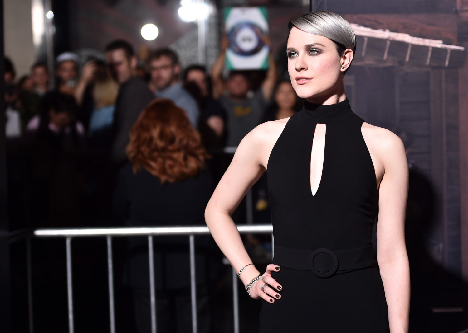 Evan Rachel Wood attends the premiere of HBO's Westworld (Alberto E. Rodriguez/Getty Images)