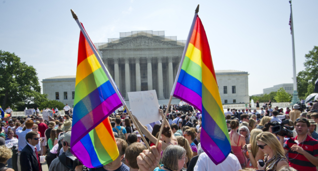 The Supreme Court legalised same-sex marriage in the US in 2015 (Image: Getty - under licence)