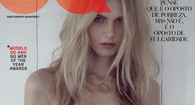 Andreja Pejic features on GQ Portugal