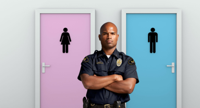 A majority said they were opposed to bathroom bills