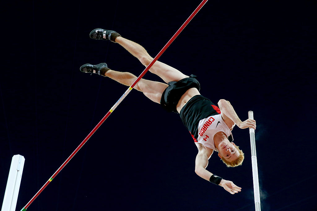 Pole vault world champion Shawn Barber