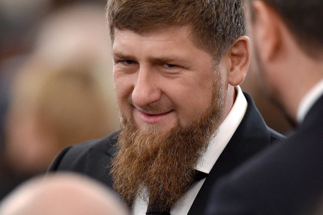 Chechnya's leader Ramzan Kadyrov (Photo by NATALIA KOLESNIKOVA/AFP/Getty Images)