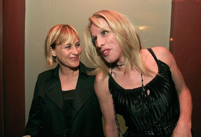 Patricia (L) and Alexis (R) Arquette (Photo by Charley Gallay/Getty Images)