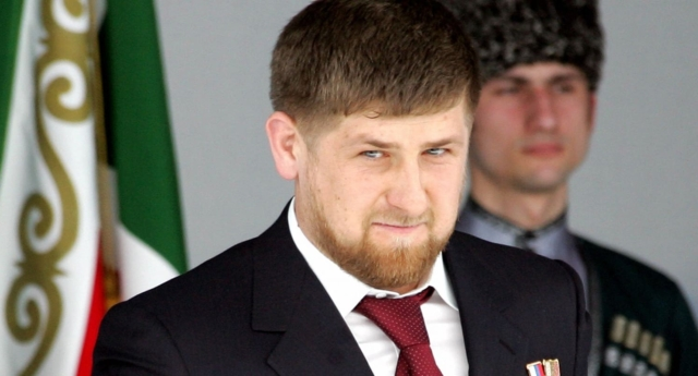 Chechen President Ramzan Kadyrov (Photo by ALEXANDER NEMENOV/AFP/Getty Images)
