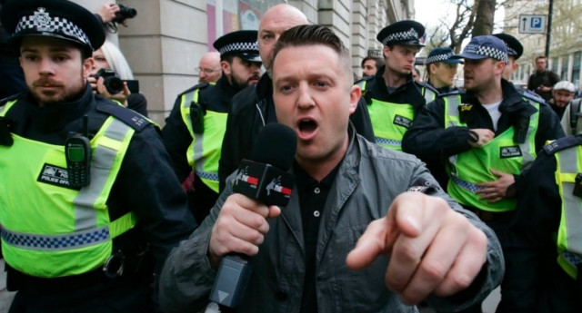 image: Tommy Robinson