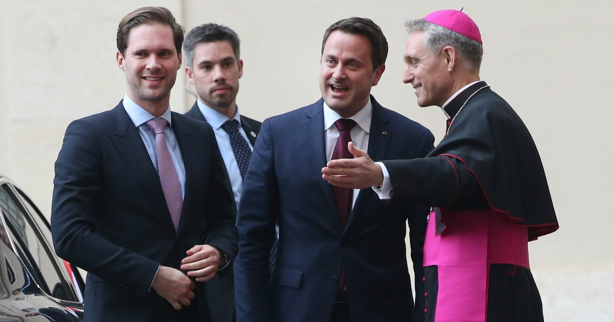 Vatican welcomes world's only gay leader and his husband to meet the Pope