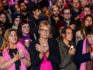Hundreds attended the candlelight vigil to support gay men in Chechnya including Australian Senator Janet Rice. Photo by: Julian Meehan