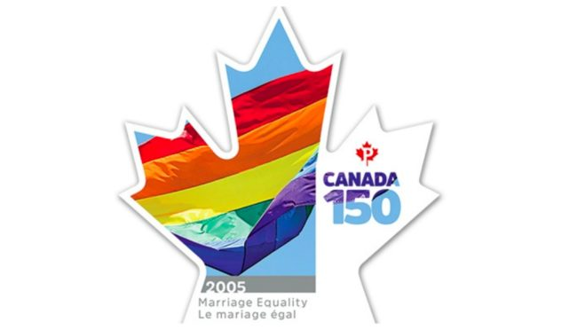 Canada stamp for marriage equality