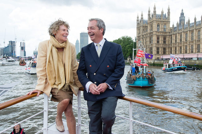 Kate Hoey and Nigel Farage (getty)