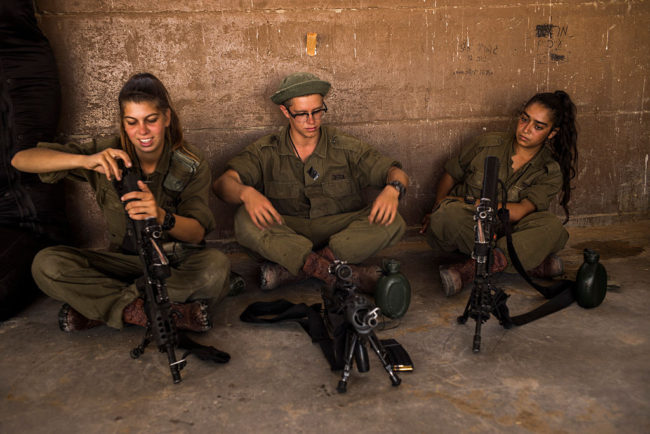 IDF's Mostly Female Combat Unit Attend Training Day in Azuz