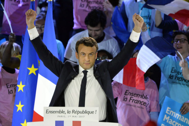 Emmanuel Macron wins French presidential election against anti-LGBT opponent Marine Le Pen