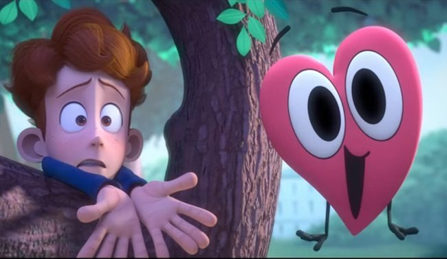 In A Heartbeat - A sweet, gay love story gets animated