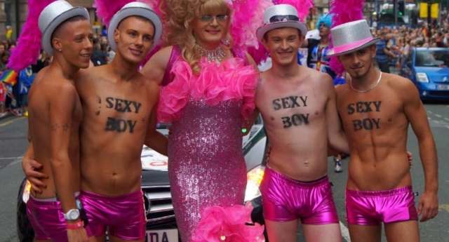Marchers at Manchester Pride (Creative Commons photo/Flickr user Man Alive!)