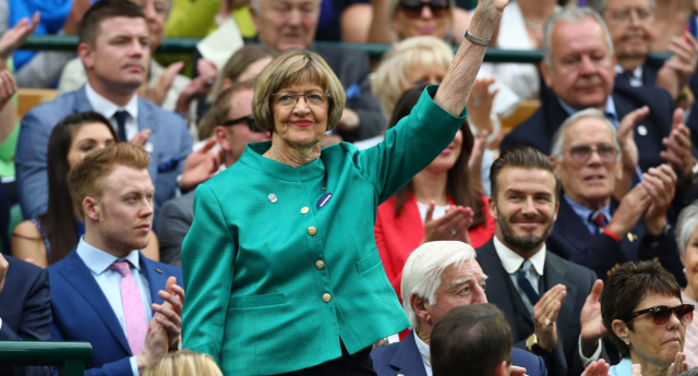 Margaret Court kept sparking controversy with a new rant about trans people (Julian Finney/Getty Images)