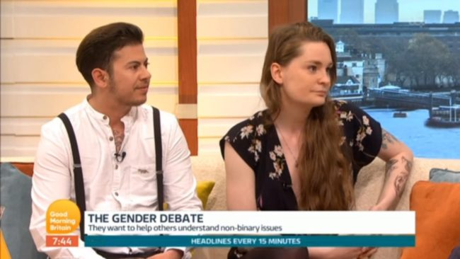 Owl and Fox on Good Morning Britain with Piers Morgan and Susanna Reid