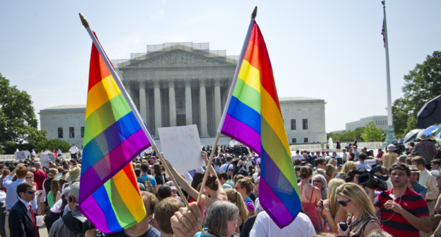 64% of Americans now support gay marriage