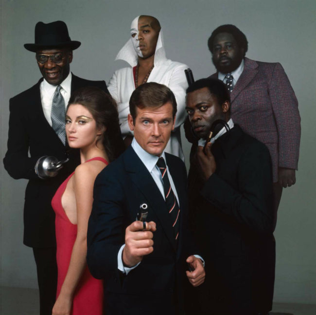 Roger Moore leads 1973's James Bond film Live and Let Die