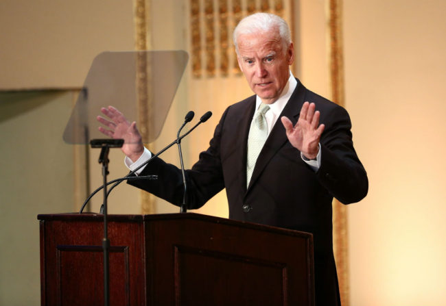 Joe Biden in NYC