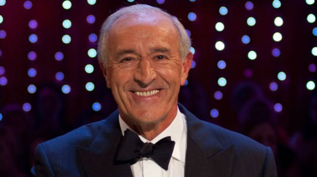 Len Goodman on Strictly Come Dancing (BBC)