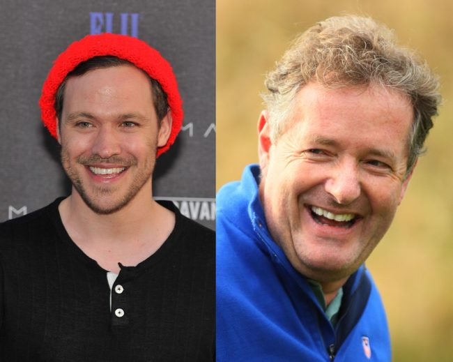 will young and piers morgan