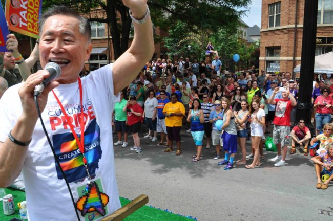 George Takei at Columbus Pride