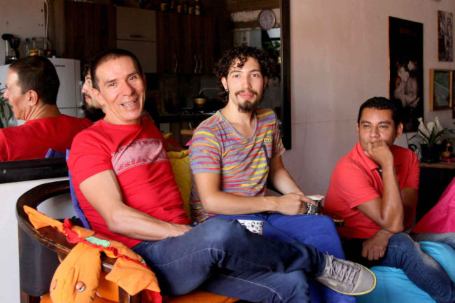 Colombias first polyamorous gay family