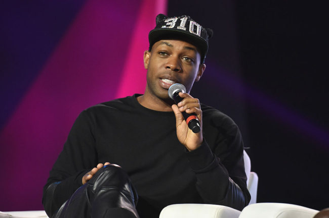 Singer Todrick Hall (Photo by Paras Griffin/Getty Images for 2016 Essence Festival)
