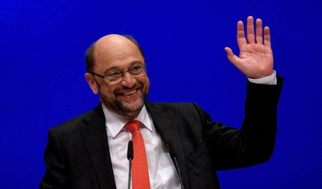Martin Schulz, chairman of the Social Democratic Party