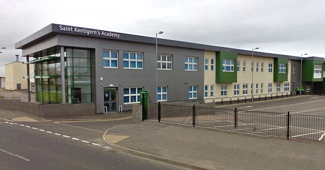 St Kentigern's Academy in Blackburn, West Lothian