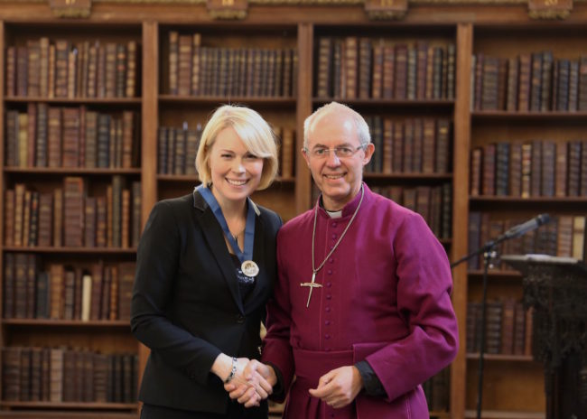Vicky Beeching and the Archbishop of Canterbury