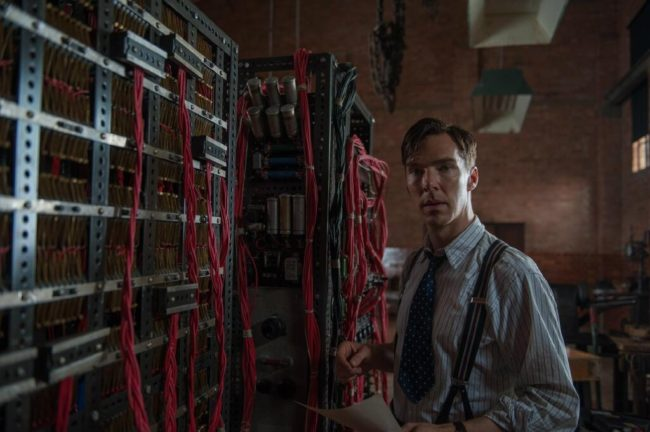 "Benedict Cumberbatch as Alan Turing in ""The Imitation Game"""