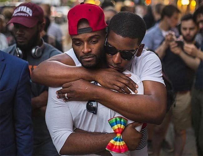 Gay couple Dominick and Nick are fighting stereotypes about their sexuality and race