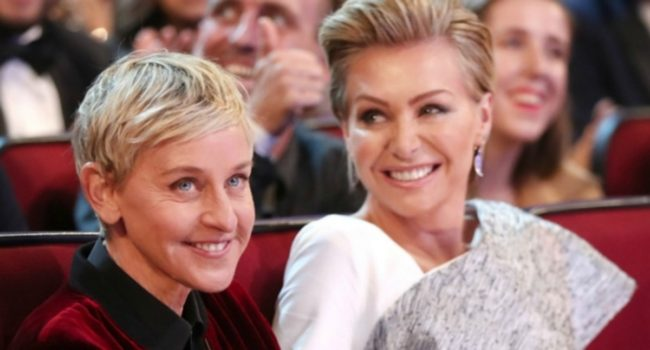 ellen and portia de rossi