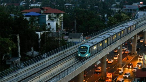 The Kochi Metro is a government owned railway with a scheme to hire trans women (Photo Kochi Metro / Twitter)