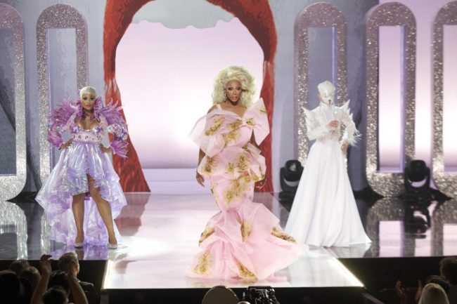 Rupaul's Drag Race final with Miss Peppermint and Sasha Velour