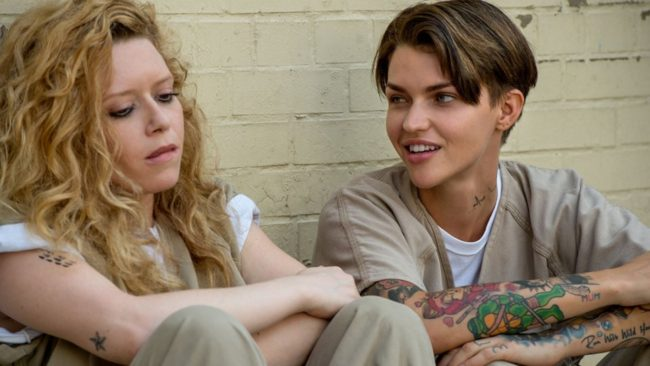 ruby rose stella carlin and nichols on netflix's orange is the new black